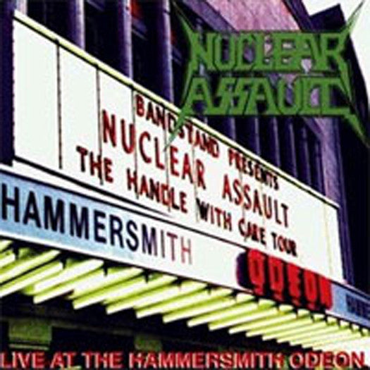 NUCLEAR ASSAULT LIVE AT HAMMERSMITH 2010 LP VINYL NEW 33RPM