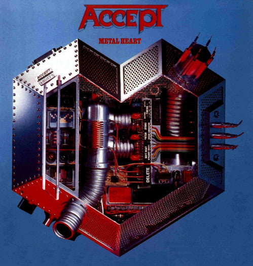ACCEPT METAL HEART LP VINYL NEW 33RPM