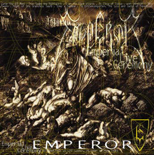 EMPEROR EMPERIAL LIVE CEREMONY LP VINYL NEW 33RPM