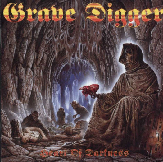 GRAVE DIGGER HEART OF DARKNESS LP VINYL NEW 33RPM 2014