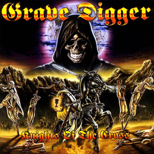 GRAVE DIGGER KNIGHTS OF THE CROSS LP VINYL NEW 33RPM 2014