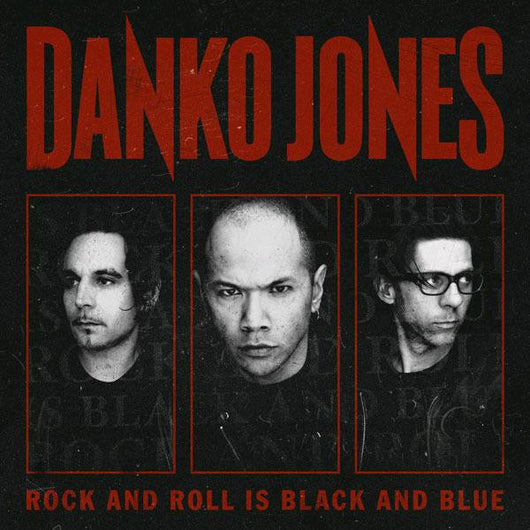 DANKO JONES AND ROLL IS BLACK AND BLUE LP VINYL BAD TASTE RECORDS NEW