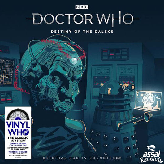 Doctor Who Destiny Of The Daleks Vinyl LP New RSD 2019