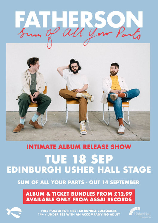 Fatherson Ticket Only Usher Hall 18th Sep 18