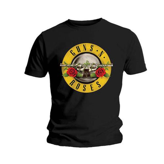 GUNS N' ROSES CLASSIC LOGO T-SHIRT MEDIUM MENS NEW OFFICIAL BLACK