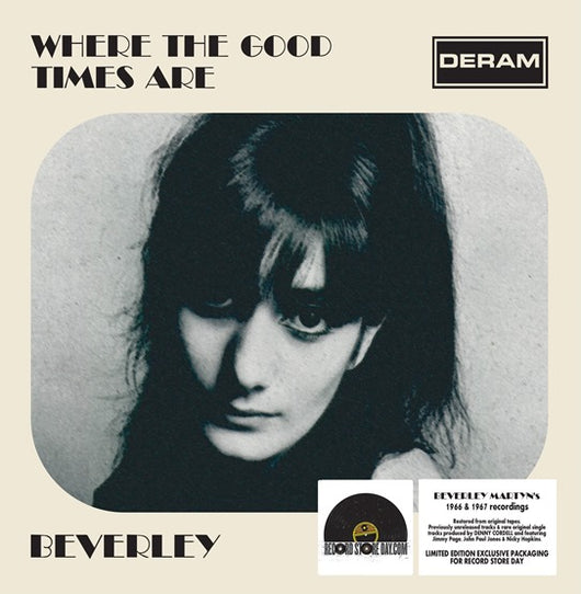 Beverley Martyn - Where The Good Times Are LP Vinyl RSD2018