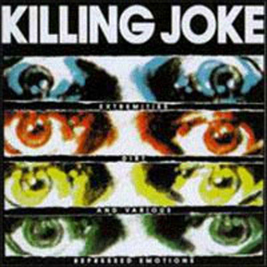 KILLING JOKE EXTREMITIES DIRT AND EXPRESSED EMOTIONS LP VINYL 33RPM NEW