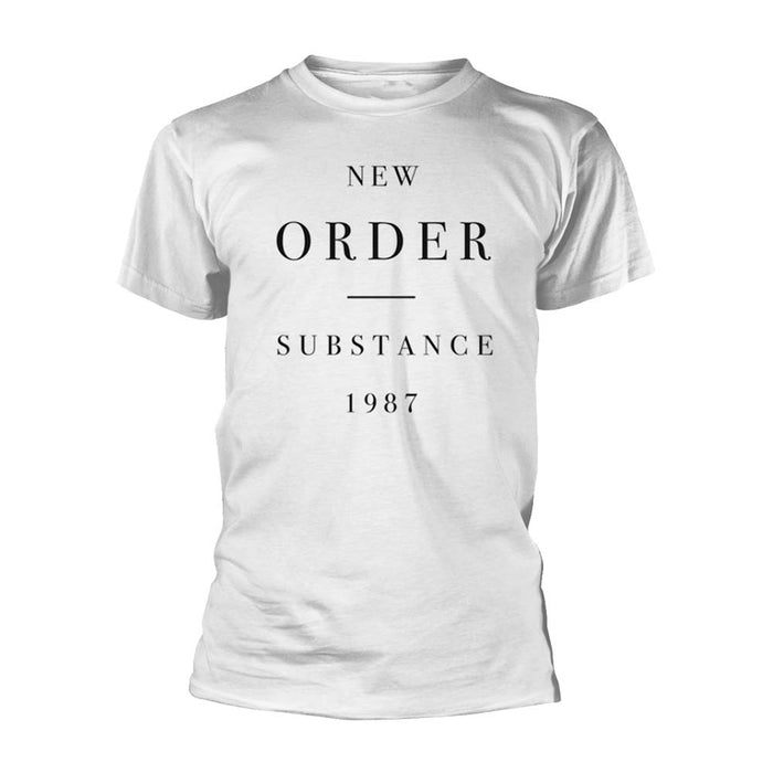 New Order Substance T-Shirt White XXL Mens New