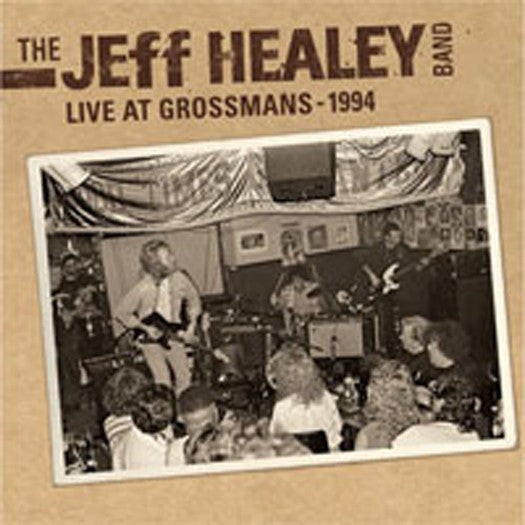 JEFF HEALEY BAND LIVE IN GROSSMANS 2013 LP VINYL NEW 33RPM