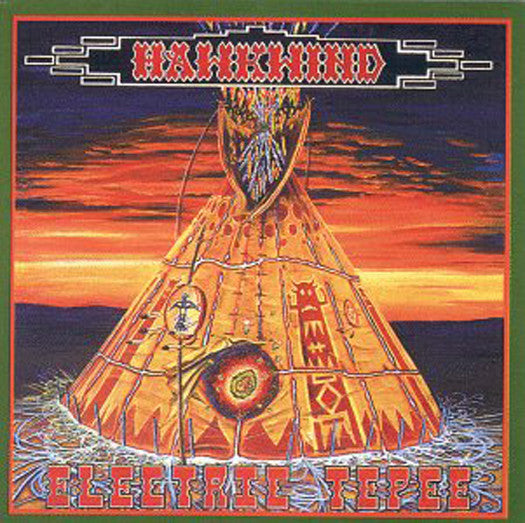 HAWKWIND ELECTRIC TEPEE LP VINYL NEW 33RPM 2014