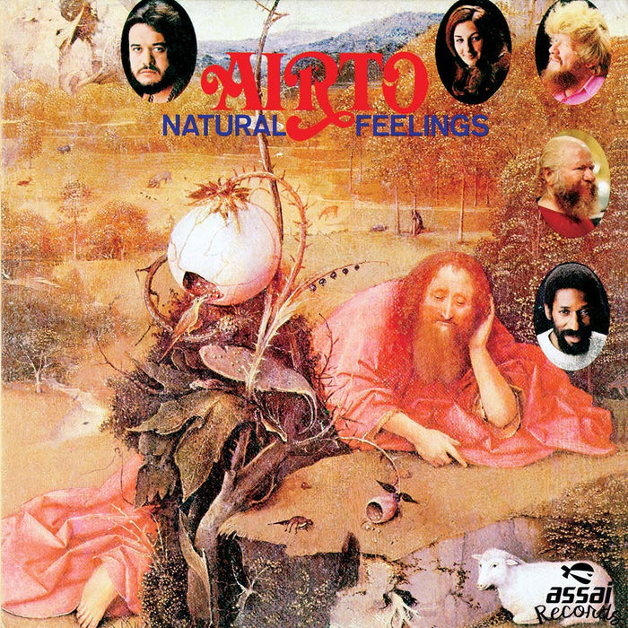 Airto Natural Feelings Marbled Vinyl LP New RSD 2019