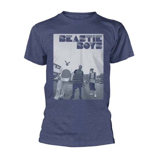 Beastie Boys Costumes T-Shirt Navy Blue Small Mens New