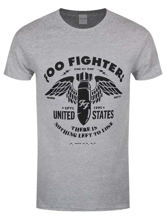 Foo Fighters Stencil T-Shirt Grey Small Mens New