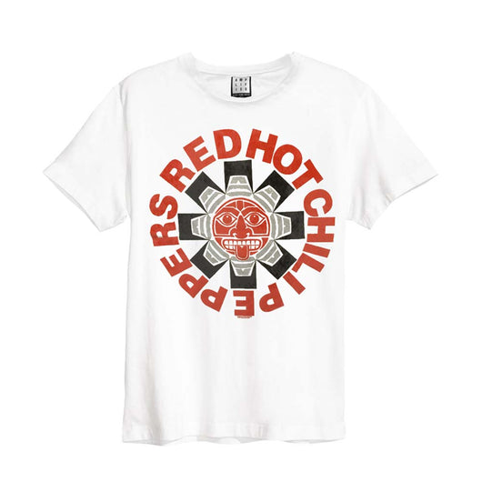 Red Hot Chili Peppers Aztec T-Shirt White XL Mens New