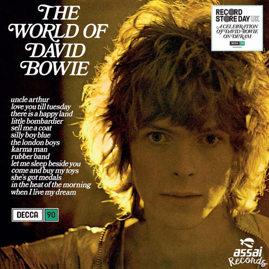 David Bowie The World of David Bowie Vinyl LP New RSD 2019