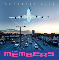 The Members - Greatest Hits All The Singles LP Clear Vinyl RSD2018