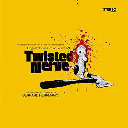 TWISTED NERVE SOUNDTRACK LP VINYL NEW SUPER DELUXE YELLOW EDITION
