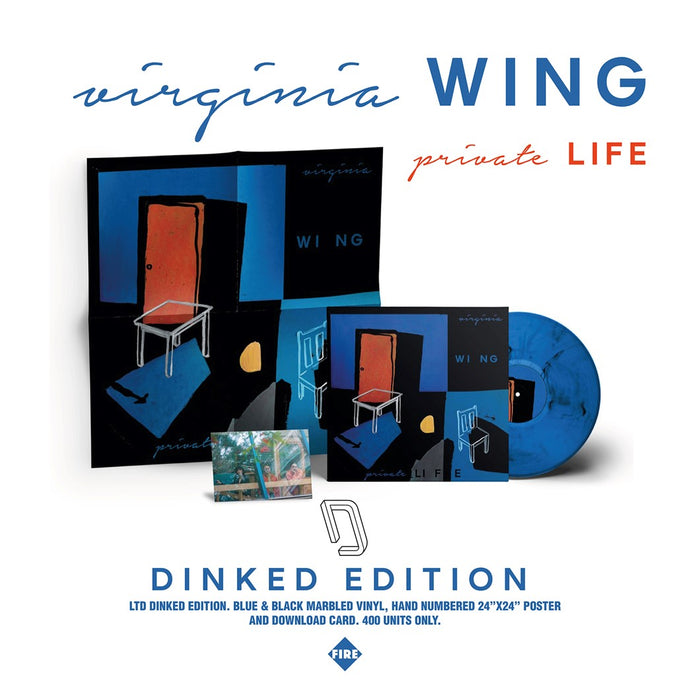 Virginia Wing private LIFE Vinyl LP 2021 Ltd Dinked Edition #78