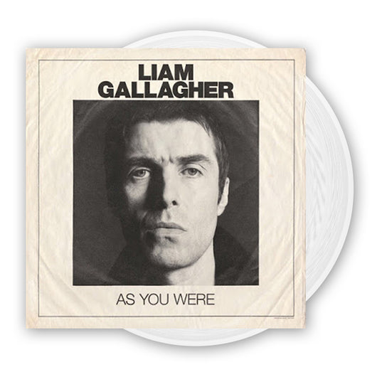 LIAM GALLAGHER As You Were LP White Indies Only Vinyl NEW 2017