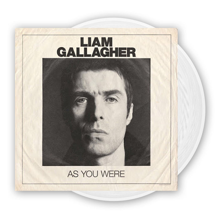 Liam Gallagher As You Were Limited White Vinyl LP New 2017