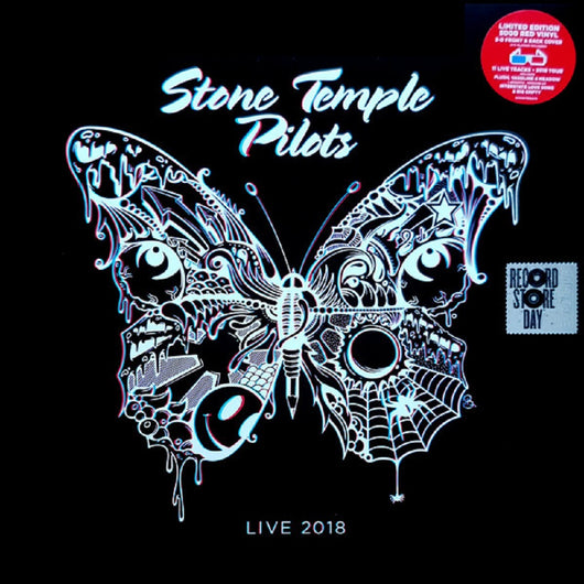 Stone Temple Pilots Live 2018 Red Vinyl LP New Black Friday 2018