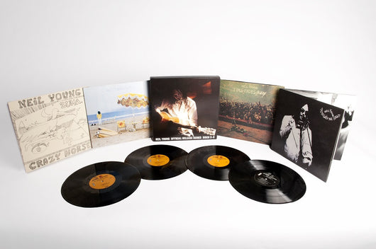 NEIL YOUNG OFFICIAL RELEASE DAY SERIES DISCS 5 TO 8 LP VINYL NEW 33RPM