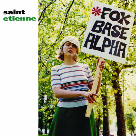 SAINT ETIENNE Fox Base Alpha LP Vinyl NEW