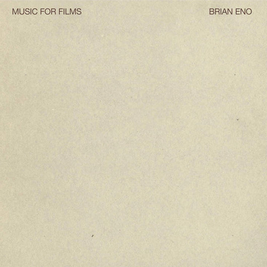 Brian Eno Music For Films Vinyl LP 2018