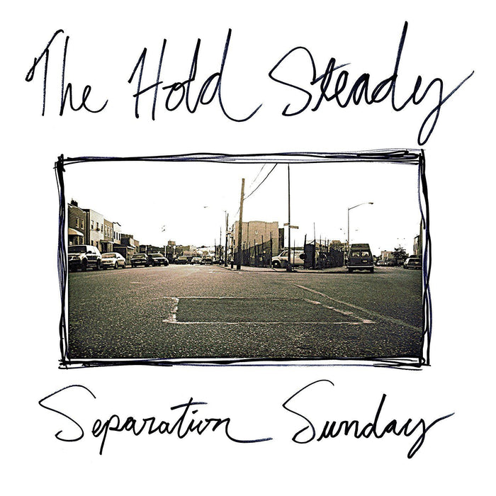 THE HOLD STEADY Separation Sunday WHITE LP Vinyl NEW 2016