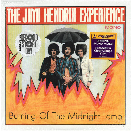 The Jimi Hendrix Experience ‎Burning Of The Midnight Lamp Vinyl EP New Black Friday 2018