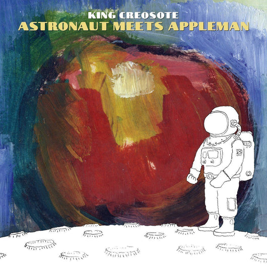 KING CREOSOTE Astronaut Meets Appleman INDIES ONLY LP & 10