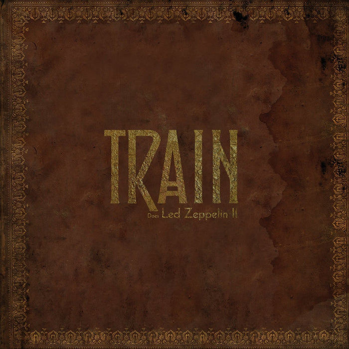 "TRAIN Does LED ZEPPELIN II 12"" Limited Edition LP vinyl NEW"