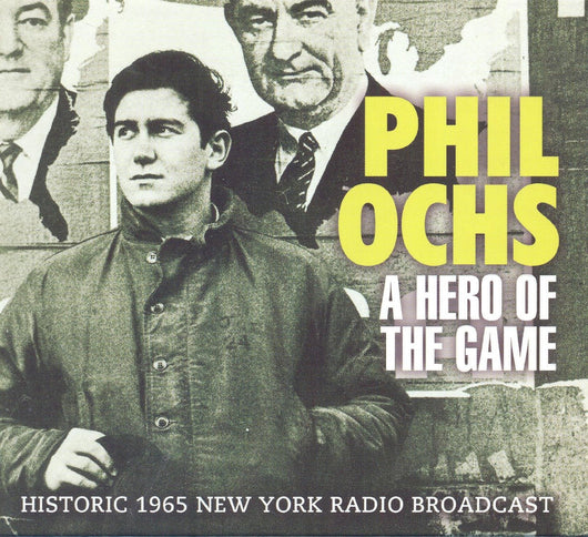 PHIL OCHS A HERO OF THE GAME LP VINYL 33RPM NEW