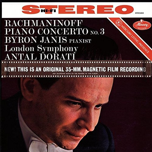 RACHMANINOV PIANO CONCERTO NO.3 D MINOR LP VINYL NEW 2015