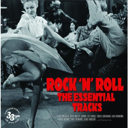 ROCK N ROLL ESSENTIAL TRACKS LP VINYL 33RPM NEW