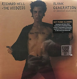 RICHARD HELL & THE VOIDOIDS Black Generation 2LP Vinyl RSD Black Friday NEW 2017