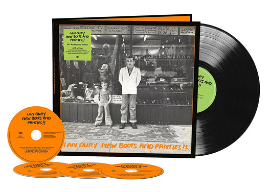 IAN DURY New Boots & Panties 40th Anniversary Edition LP & 4CD Box-Set NEW 2017