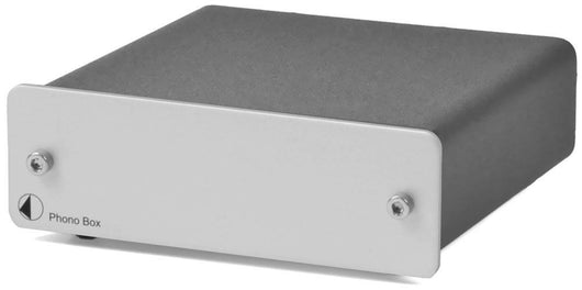 PROJECT PHONO BOX MM/MC SILVER TURNTABLE PREAMP