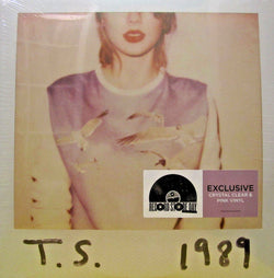 TAYLOR SWIFT 1989 LP Clear & Pink Vinyl NEW RSD2018