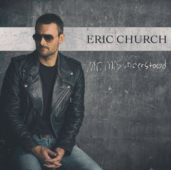 ERIC CHURCH Mr Misunderstood LP Vinyl NEW Ltd Ed Sea Blue RSD 2017