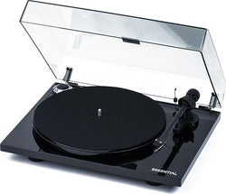 PRO-JECT Essential 3 HIFI TURNTABLE Black NEW Black Platter