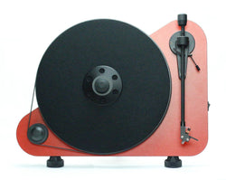 PRO-JECT VTE Vertical Turntable Wall Mountable MATT RED NEW OFFICIAL