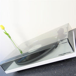 Pro-Ject Essential III White Acrylic Platter Turntable