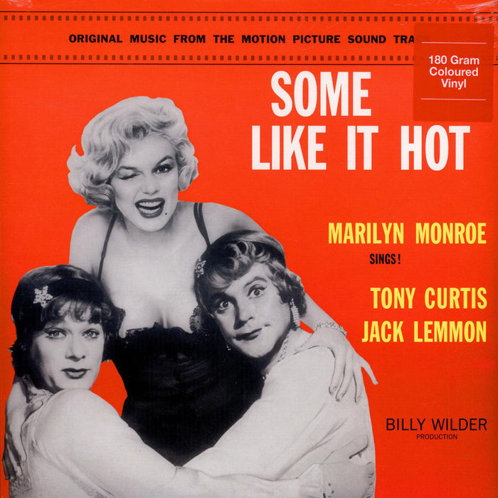 "SOME LIKE IT HOT Marilyn Monroe 12"" Coloured 180gm LP VINYL NEW"