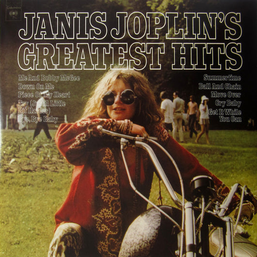 JANIS JOPLIN Greatest Hits LP Pink/Blue Splatter Vinyl RSD Black Friday NEW 2017