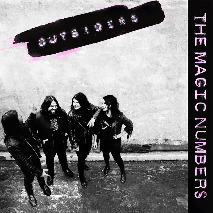 The Magic Numbers Outsiders Vinyl LP 2018
