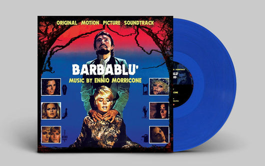 ENNIO MORRICONE Bluebeard Barbalu Soundtrack LP Vinyl NEW RSD 2017 Blue