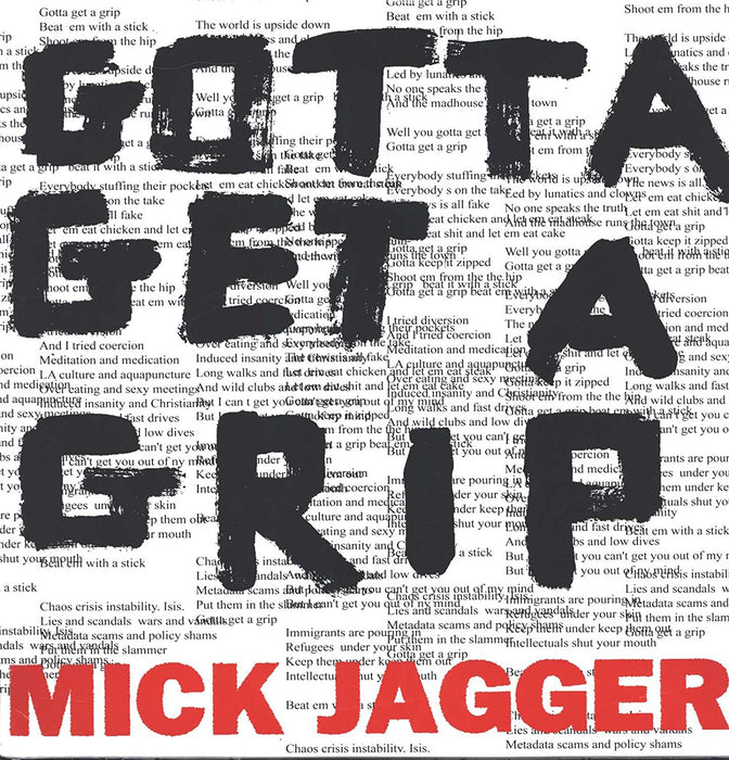 "MICK JAGGER Gotta Get A Grip 12"" Vinyl Single NEW 2017"