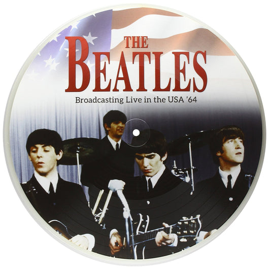 BROADCASTING LIVE IN THE USA '64 LP VINYL Picture Disc NEW