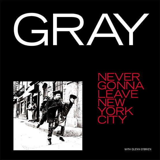 "Gray - Never Gonna Leave New York City / Willie Mays, Boom For Real 12"" Vinyl Single Picture Sleeve RSD Sept 2020"
